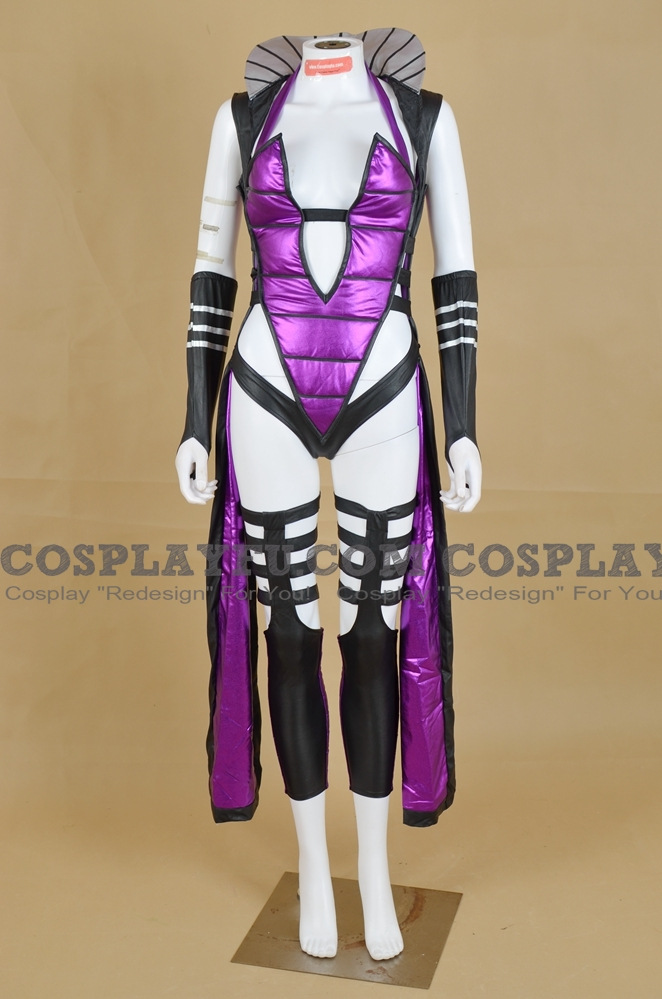 Custom Sindel Cosplay Costume Black From Mortal Kombat