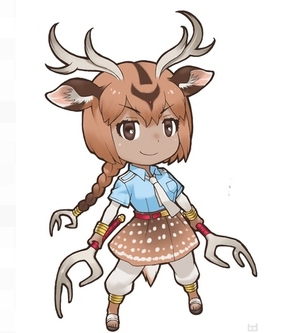 Axis-jika Cosplay Costume from Kemono Friends