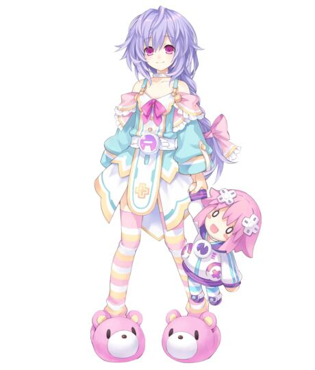 Pururut Cosplay Costume from Hyperdimension Neptunia