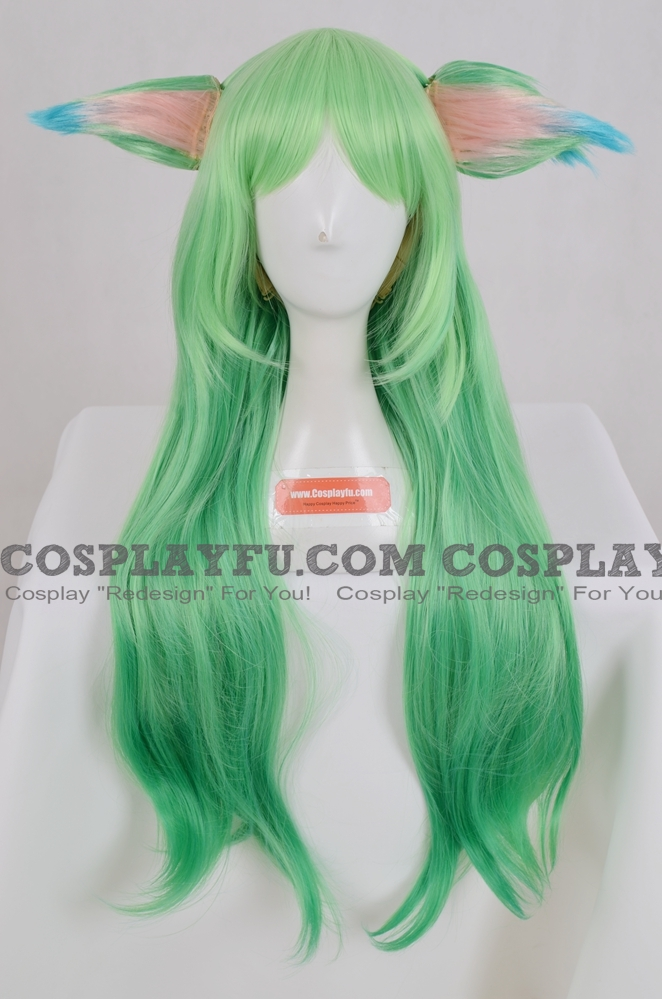 Star Guardian Lulu the Fae Sorceress Wig from League of Legends