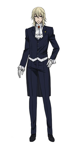 Aleister Cosplay Costume from Kuroshitsuji: Book of the Atlantic