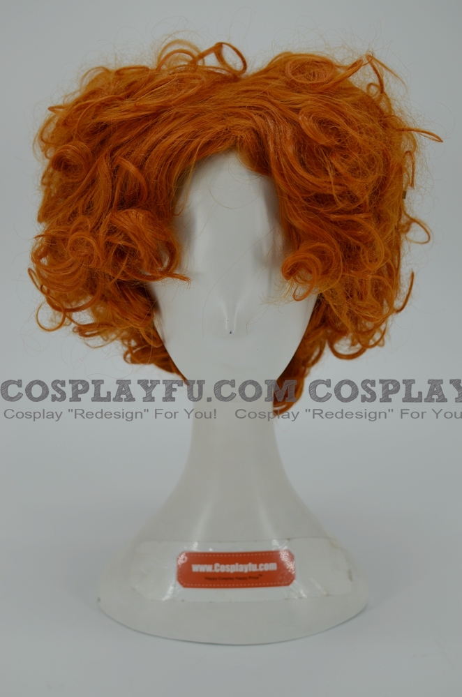 The Hatter Wig (2nd) from Alice in Wonderland