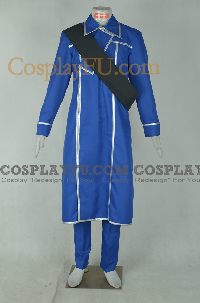 King Bradley Cosplay Costume from FullMetal Alchemist
