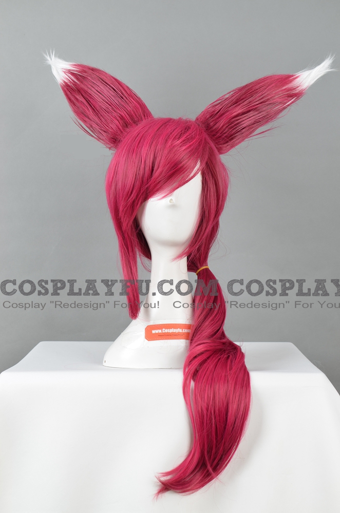Xayah the Rebel Wig from League of Legends