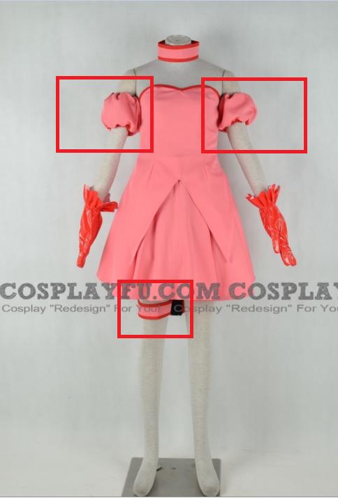 Ichigo Momomiya Cosplay Costume (parts) from Tokyo Mew Mew