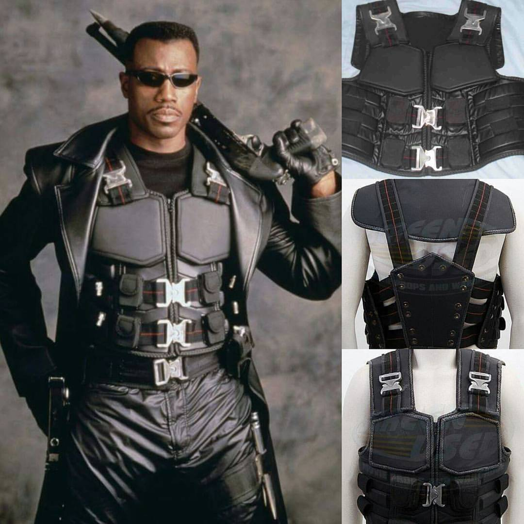 Eric Brooks Cosplay Costume from Blade