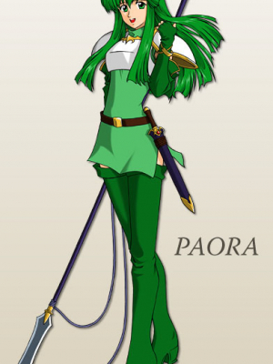Palla Cosplay Costume from Fire Emblem