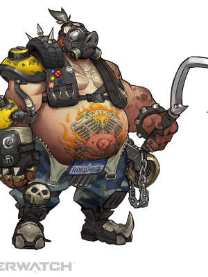 Roadhog Cosplay Costume from Overwatch