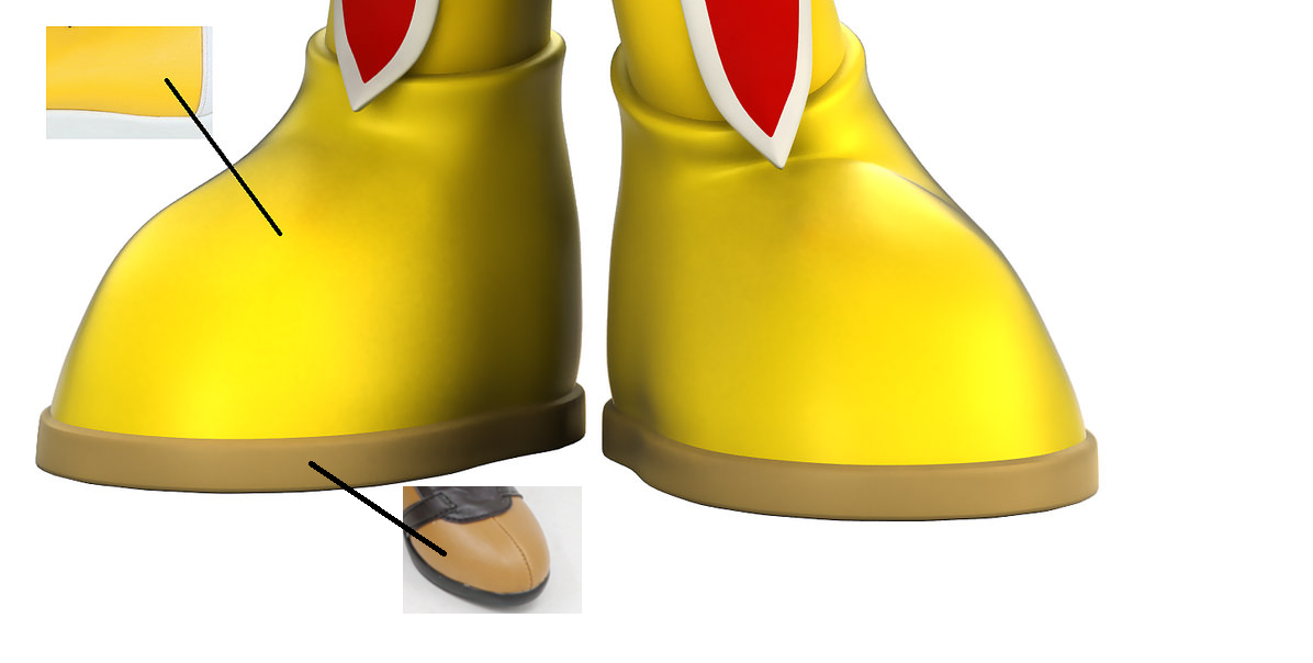 Alex Shoes from Alex Kidd in Miracle World