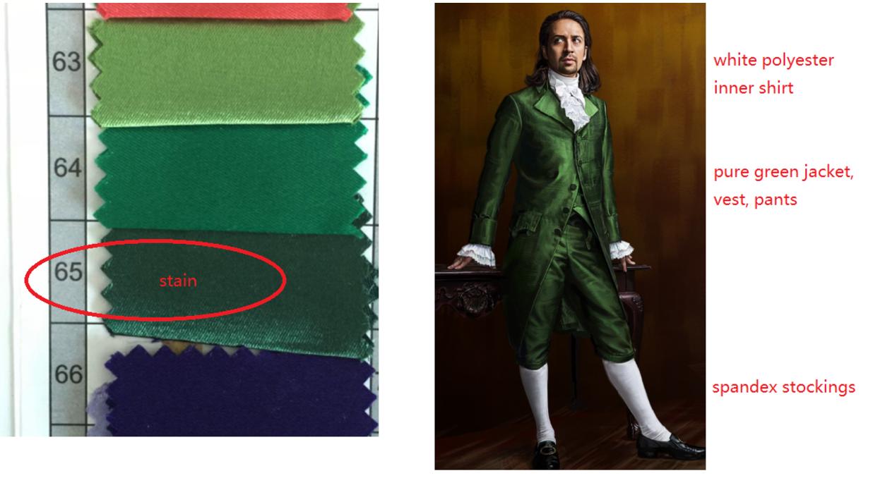 Alexander Cosplay Costume from Alexander Hamilton