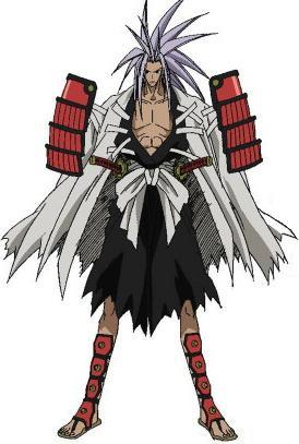 Amidamaru Cosplay Costume from Shaman King