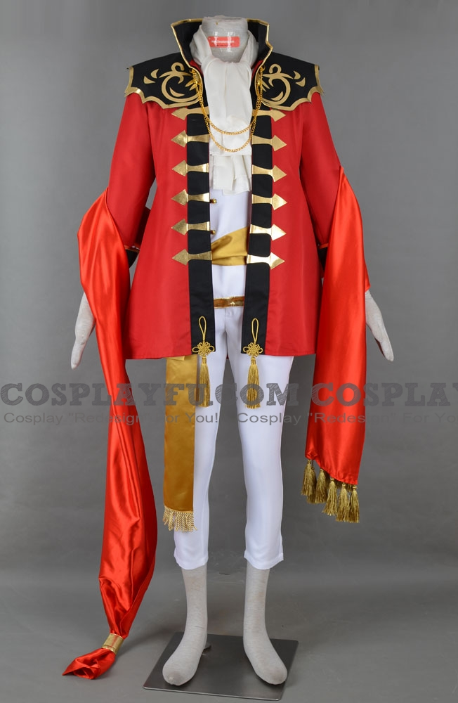 Eldigan Cosplay Costume from Fire Emblem: Seisen no Keifu