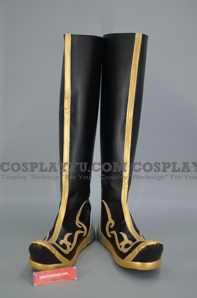 Zhang Bao Boots from Dynasty Warriors