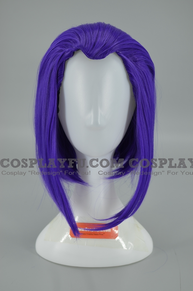 Raven Wig from DC comics