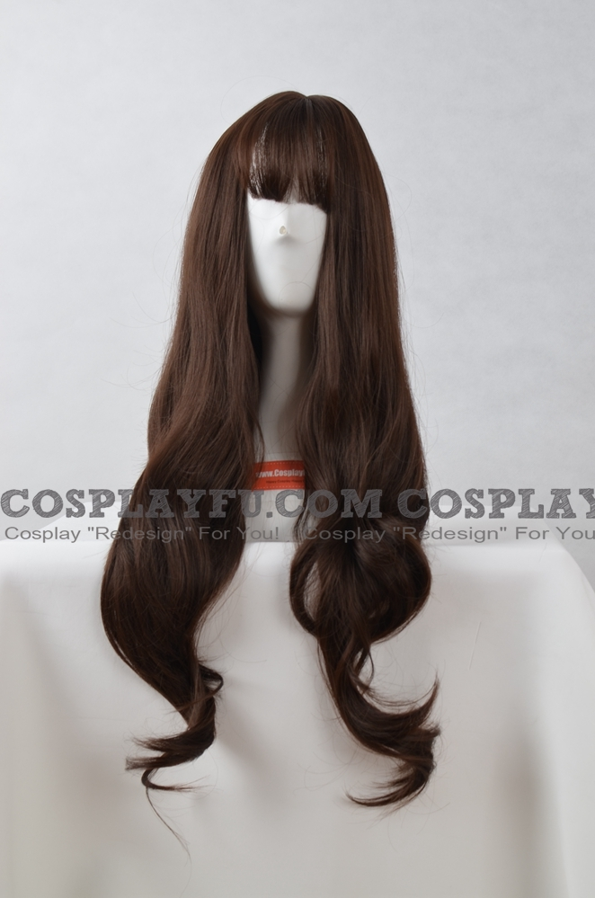 Brown Wig (Long, Wavy, Air)