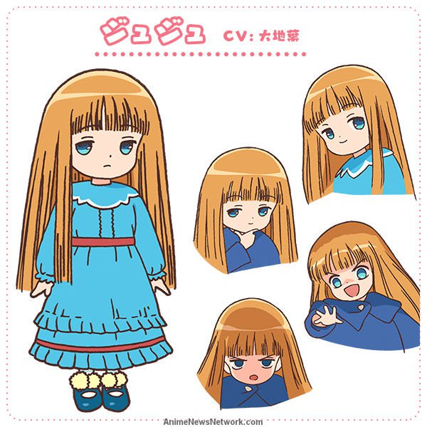 Juju Cosplay Costume from Magical Circle Guruguru