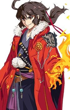 Monsuto Anime Ryouma Sakamoto Costume