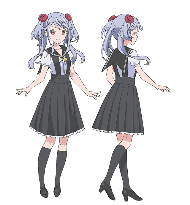 Arisu Cosplay Costume from Two Car