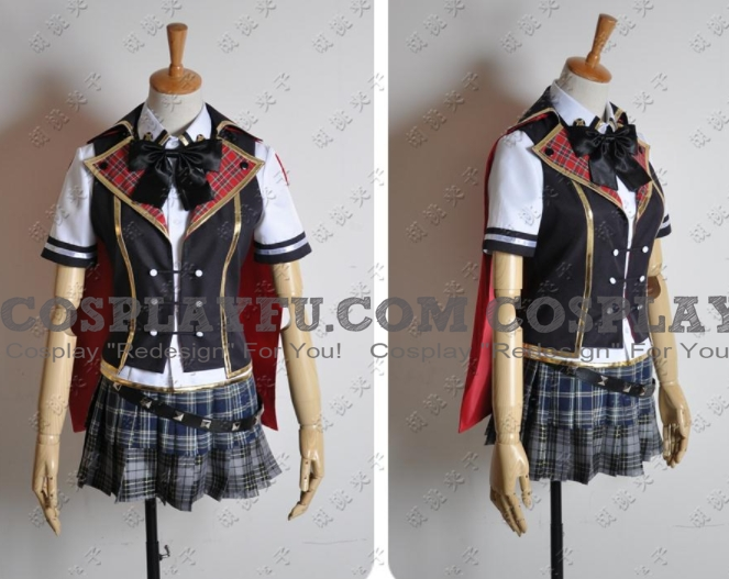 Queen Cosplay Costume (Summer Uniform) from Final Fantasy Type 0