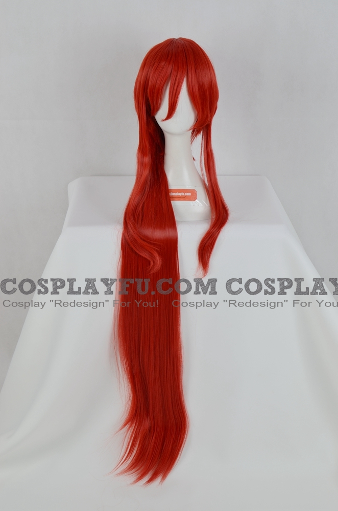 Red Wig (Long,Straight,HS15 Erza)