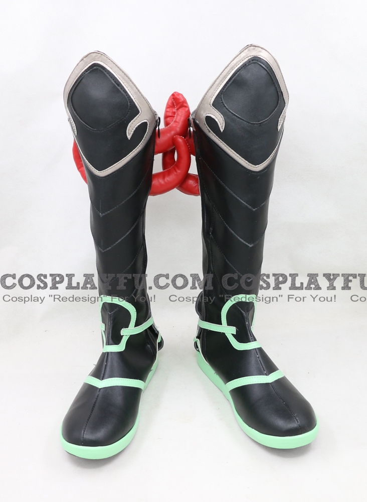 Oni Genji Shoes from Overwatch