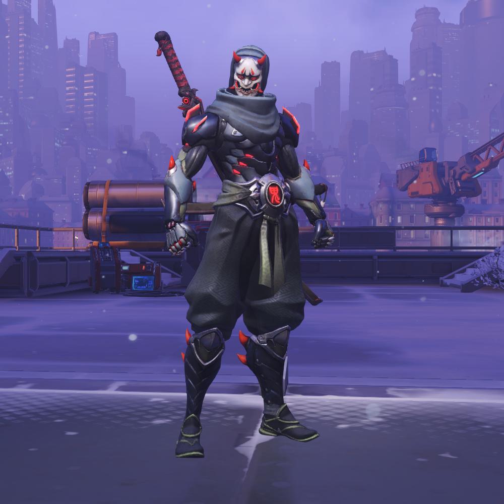 Overwatch Гэндзи Шимада Костюм