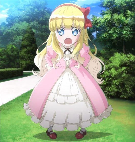 Adele von Granntzreich Cosplay Costume from Oushitsu Kyoushi Heine