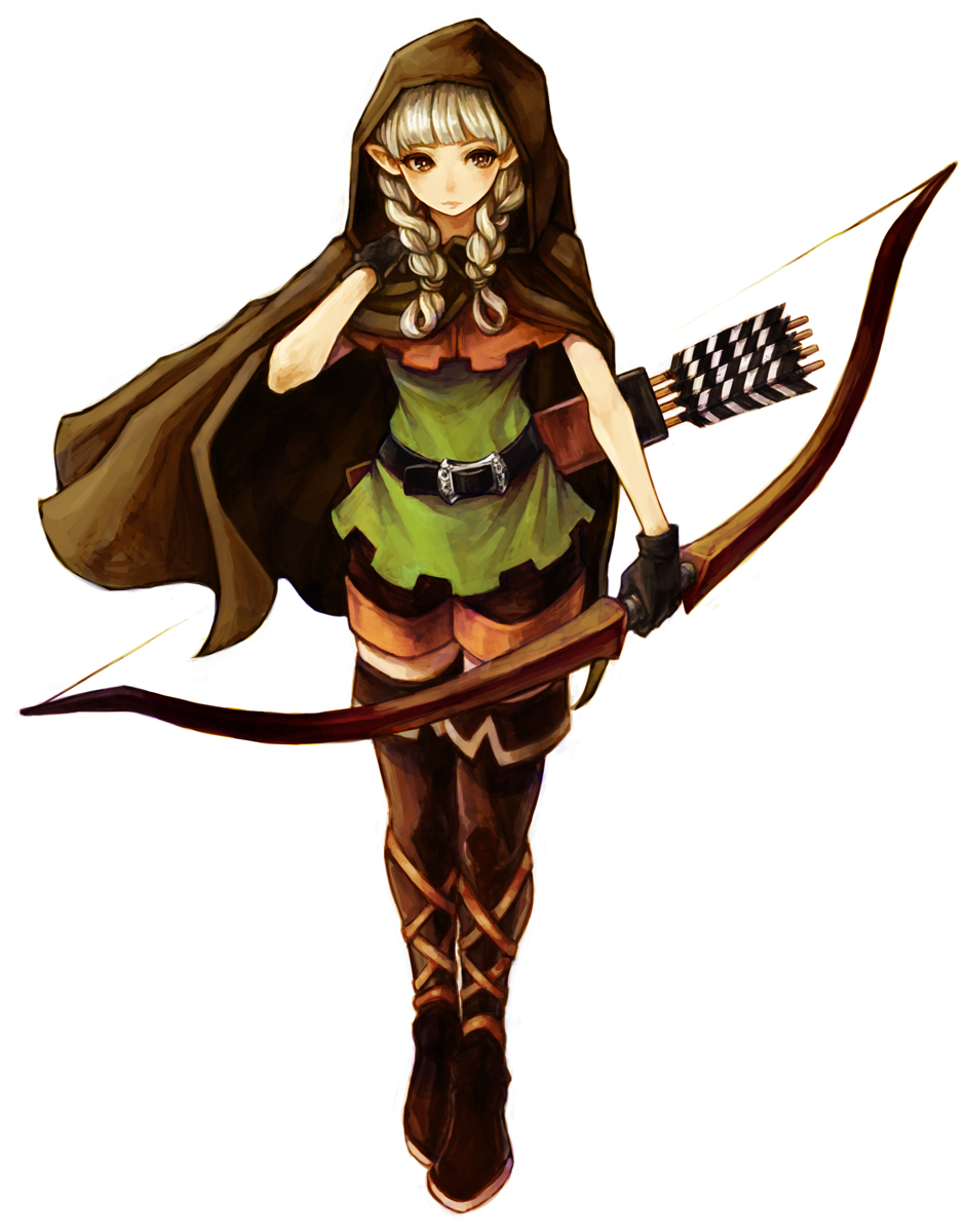 Elf Cosplay Costume from Dragon's Crown