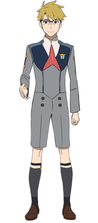 Goro Cosplay Costume (Strelizia) from Darling in the Franxx