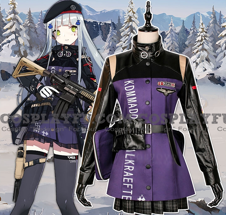 HK-416 Cosplay Costume from Girls' Frontline