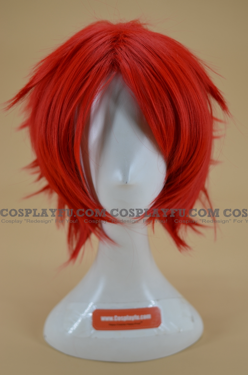 Red Wig (Short,Spike,CF03)
