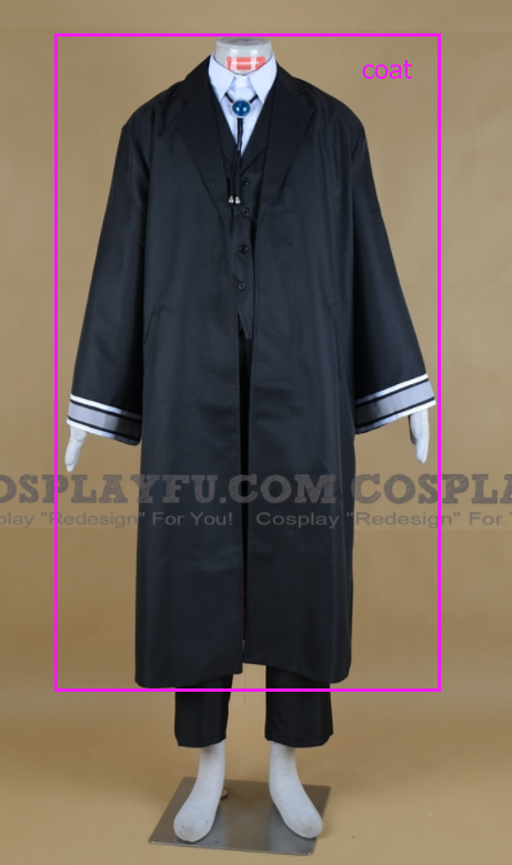 Elias Ainsworth Cosplay Costume (Parts) from The Ancient Magus' Bride