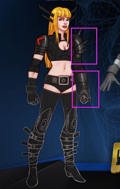 Magik Cosplay Costume Props from X-Men