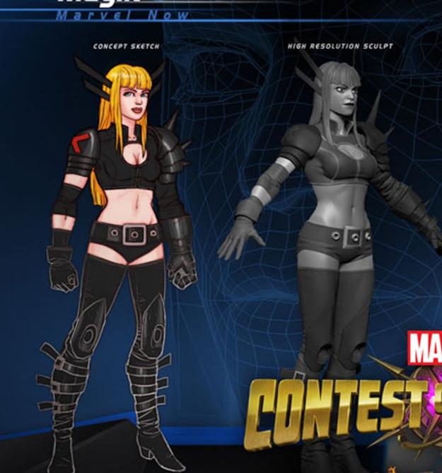 X-Men Magik Costume