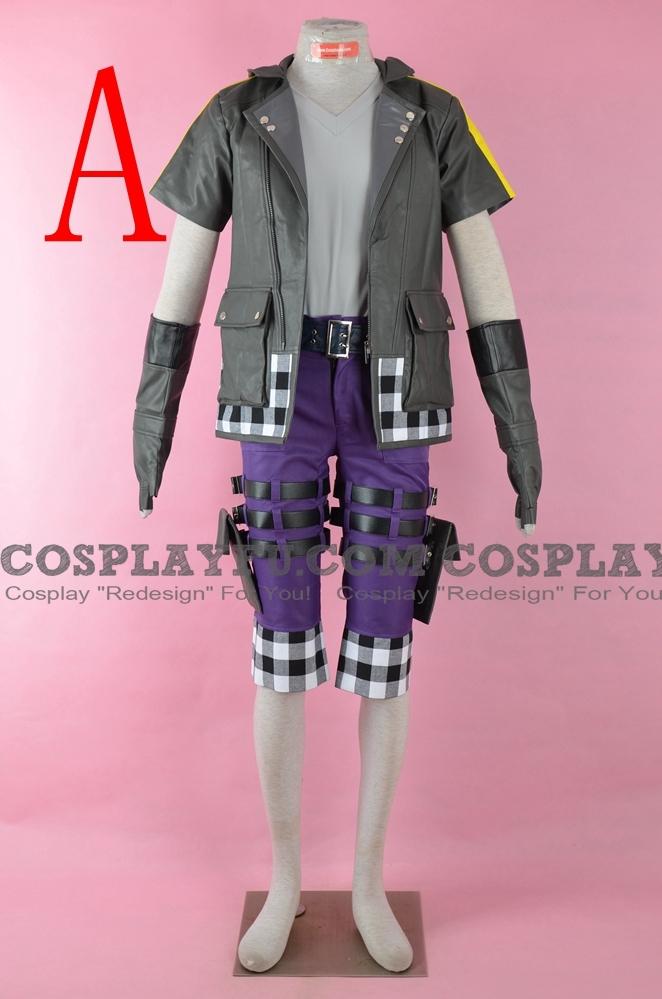 Riku Cosplay Costume from Kingdom Hearts 3