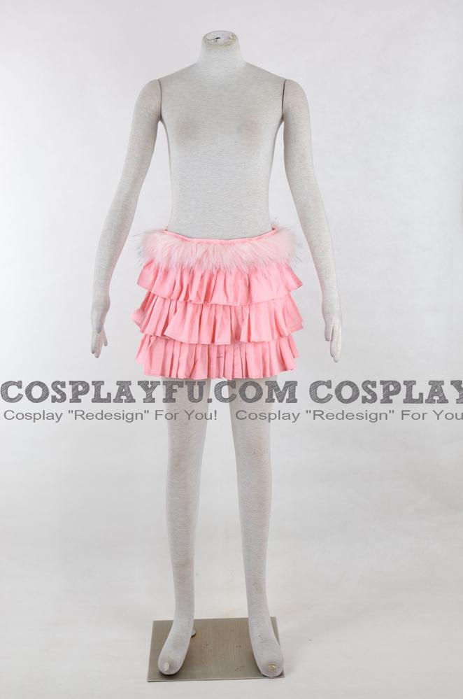 Super Sonico Cosplay Costume Skirt from Nitro Super Sonic