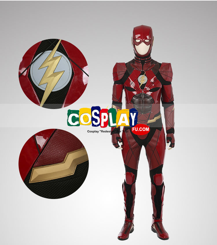 The Flash Cosplay Costume from Justice League