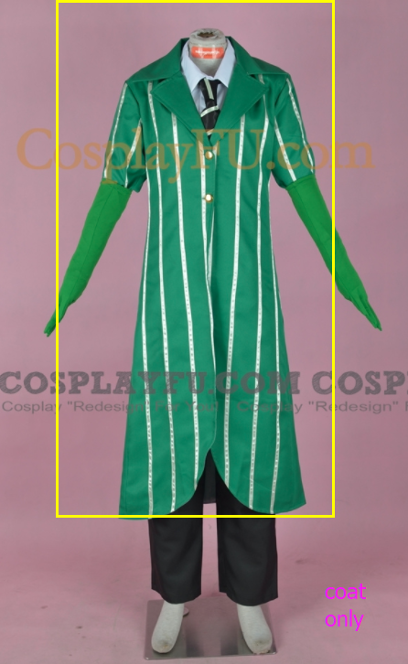 The Lorax Once-ler Cosplay Costume DD.1012