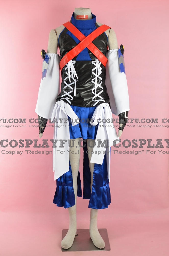 Aqua Cosplay Costume from Kingdom Hearts