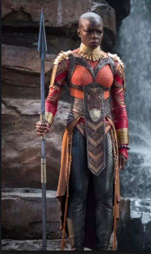 Okoye Cosplay Costume from Black Panther 2018