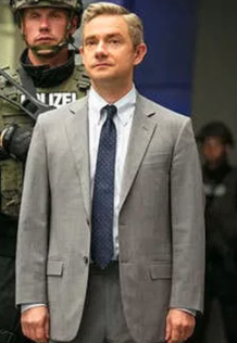 Everett K. Ross Cosplay Costume from Black Panther 2018