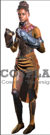 Shuri Cosplay Costume Wig from Black Panther 2018