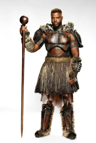 M'Baku Cosplay Costume from Black Panther 2018
