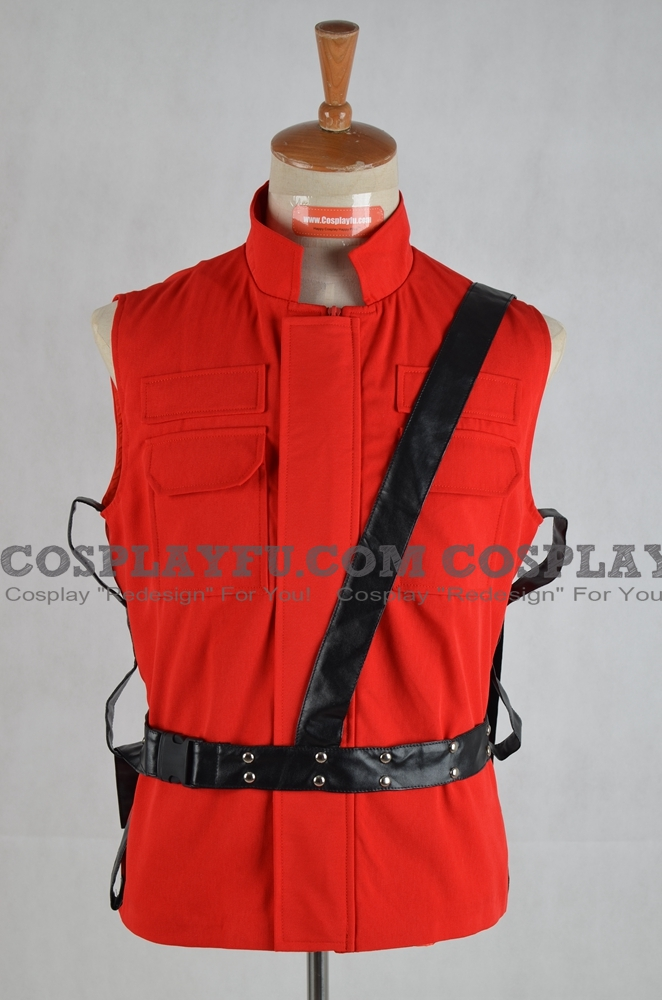 Special Tactics and Rescue Service Vest (Red) from Resident Evil