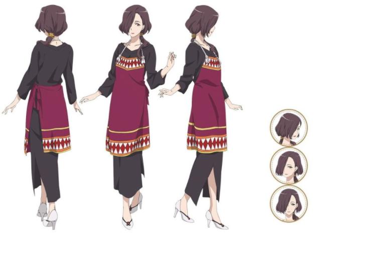 Angelica Cosplay Costume from Sakura Quest
