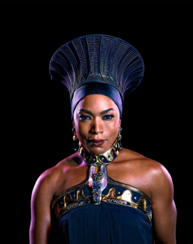 Ramonda Cosplay Costume from Black Panther 2018