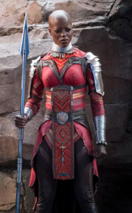 Ayo Cosplay Costume from Black Panther 2018