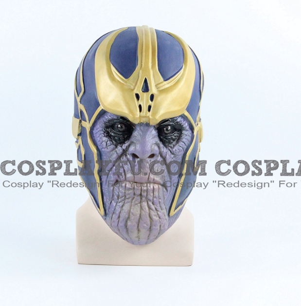 Thanos Cosplay Costume Mask from Marvel Super Heroes