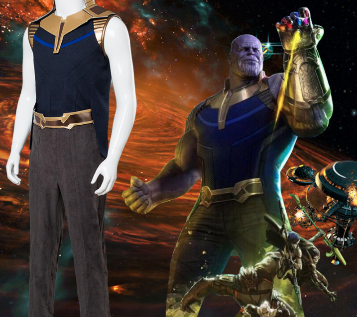 Thanos Cosplay Costume from Avengers: Infinity War