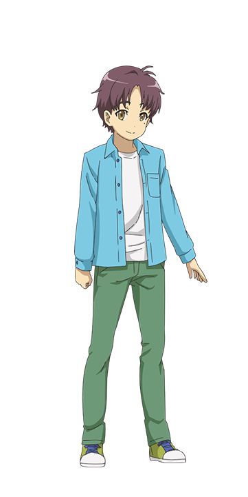 Anji Cosplay Costume from Sakura Quest